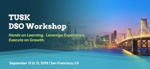 TUSK DSO Workshop - September 12-13 @ The Westin St. Francis (Union Square)